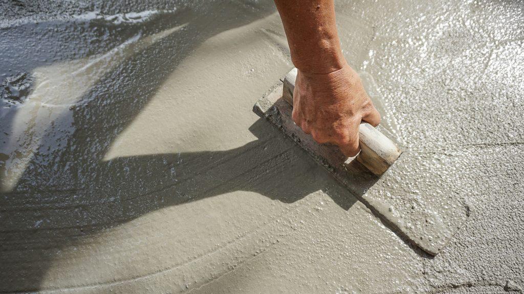 concreting